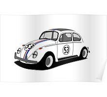 Volkswagen Beetle - Herbie Poster