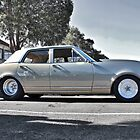 Holden HK Premier in Silver Fox with reverse cowling by Ferenghi