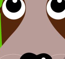 All Ears! - Puppy dog T Shirt Sticker