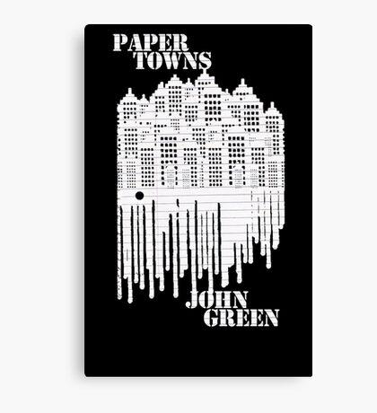 Paper Canvas Print