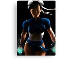 Chun Li - Sexy Street Fighter Canvas Print