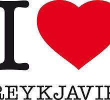 I ♥ REYKJAVIK by eyesblau