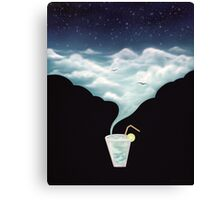 Drink the Sky Canvas Print