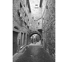 Medieval Walk Photographic Print