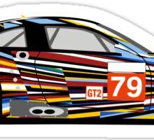 BMW M3 GT2 Art Car Sticker