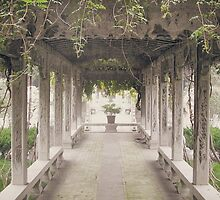 Temple Courtyard by Michelle Ricketts