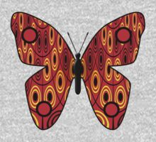 Red butterfly Kids Clothes