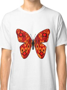 Red butterfly Classic T-Shirt