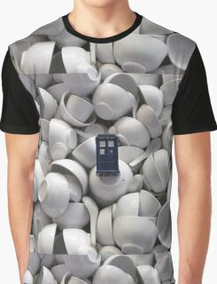 Bowl of TARDIS Graphic T-Shirt