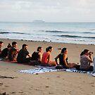 Friends gather ... Solar Eclipse, 2012. Port Douglas. by Shellie williams