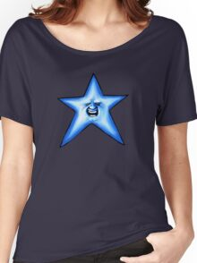Twinkle Twinkle Smiling Blue Star Women's Relaxed Fit T-Shirt