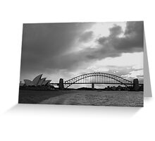 On the Harbour Greeting Card