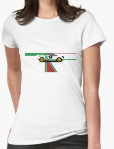 Lancia Stratos Womens Fitted T-Shirt