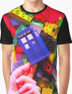 Lego My TARDIS Graphic T-Shirt