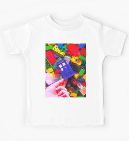 Lego My TARDIS Kids Tee
