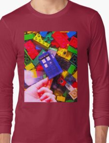 Lego My TARDIS Long Sleeve T-Shirt