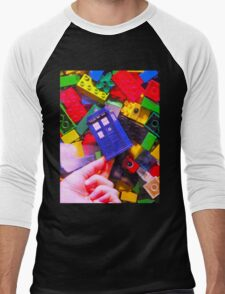 Lego My TARDIS Men's Baseball ¾ T-Shirt