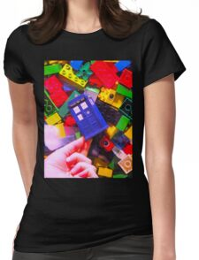 Lego My TARDIS Womens Fitted T-Shirt