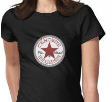 hellraiser converse Womens Fitted T-Shirt