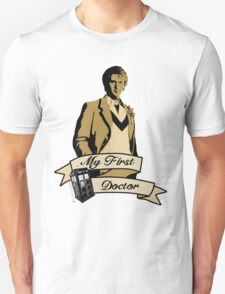 Doctor Who - My first Doctor (Who) fifth 5th Peter Davison Unisex T-Shirt
