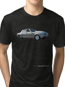 Holden HK Premier in Silver Fox with reverse cowling 2 Tri-blend T-Shirt