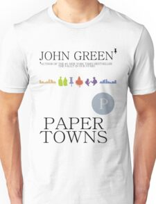 An Abundance of Paper Towns Unisex T-Shirt