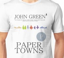 An Abundance of Paper Towns Unisex T-Shirt
