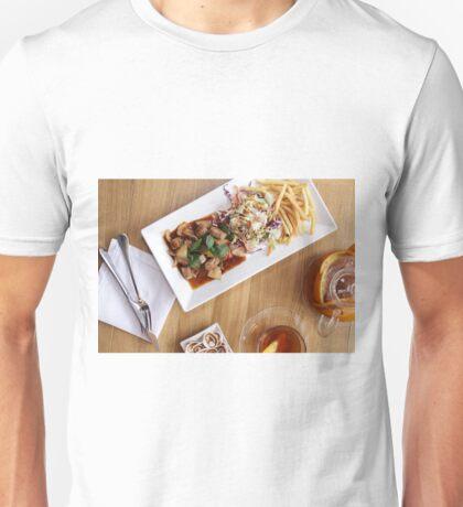 beakfast meal with dessert Unisex T-Shirt