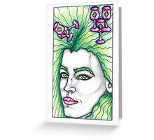 The 5 of Cups Greeting Card