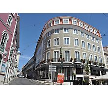 Curves of Lisbon Photographic Print
