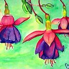 Fuchsia Ladies by Ciska