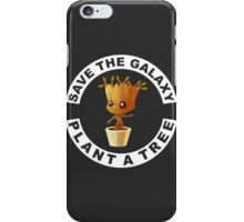 Save the Galaxy Plant a Tree iPhone Case/Skin