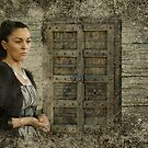 The Woman And The Door by Mick Kupresanin