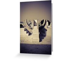 The symmetry of things Greeting Card