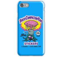 TRASH COMPACTOR KIDS iPhone Case/Skin