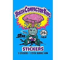 TRASH COMPACTOR KIDS Photographic Print