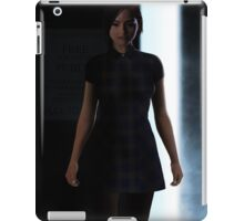 A Painting of Dr Who's Clara Oswin Oswald iPad Case/Skin