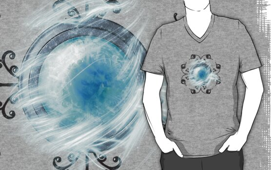 Final Fantasy - Shiva Materia Tee by Reverendryu