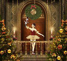 Dancing Ballerina and Nutcracker by xgdesignsnyc