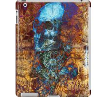 Skull and Flowers ( iPad ) iPad Case/Skin