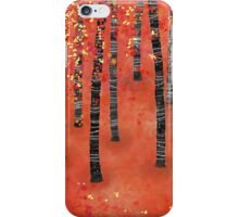 Birches iPhone Case/Skin