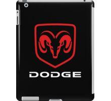 DODGE - Red , White & Black iPad Case/Skin