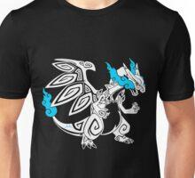 Mega Zard - White Unisex T-Shirt