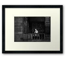 FRAGILE MOMENTS   III Framed Print