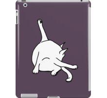 Cat washing bottom iPad Case/Skin