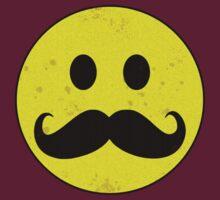 Mustache Smiley by Buddhuu