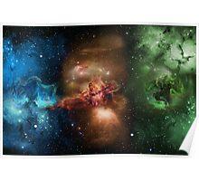 Skill Nebula - Skyrim Poster