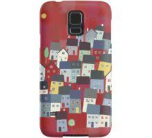 Red village Samsung Galaxy Case/Skin