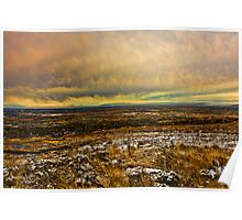 North Ogden Valley To The Great Salt Lake Poster