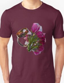 Golden Rings and Spring Flowers T-Shirt